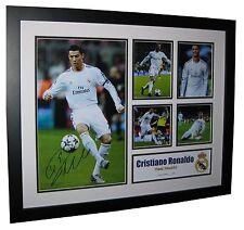 Cristiano Ronaldo Signed Real Madrid Limited Edition Memorabilia