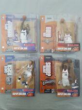 Mcfarlane NBA Action Figures Lebron James Nash Webber McGrady Yao Davis Lot of 9