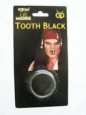 pirate noir DENTS HALLOWEEN croque-mou maquillage déguisement augmente Traffic à