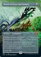 Sword of Feast and Famine - BORDERLESS - X1 - Double Masters - 4RCards