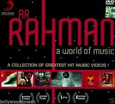 AR RAHMAN A WORLD OF MUSIC DVD - NEW ORIGINAL BOLLYWOOD - FREE UK POST