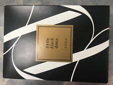 Avon Little black dress gift set new in box $10 us ship includes parfum, body lo