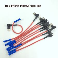 10 x NEW Micro2 Add-A-Circuit Fuse Tap ATR APT Car Fuse Holder Adapter #gtz