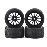 RC 4Pcs 1:8 Monster Truck Bigfoot Tires&Wheel 17mm Hex for TRAXXAS Model Car