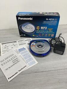 Panasonic SL-MP30 Silver Agent WALKMAN Portable CD Player CD-R/RW BOXED TESTED
