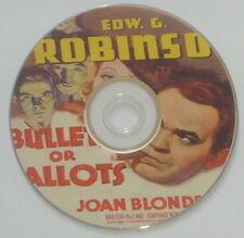 FILM NOIR 158: BULLETS OR BALLOTS (1936) Keighley, Ed G. Robinson, Joan Blondell
