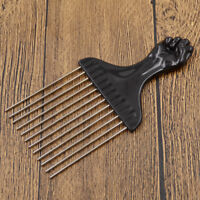 Metal Flat Head Comb for Curly Hair Hairstyling Afro hairstyle Women Beauty DIY