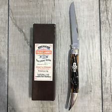 Schatt & Morgan File & Tested #5 Toothpick Pocket Knife - Mint Condition