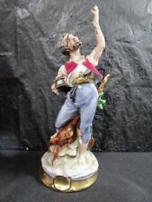 Pirate Holding Silver Object  -  Hand Painted -  Top Quality    (Pirate # 3)
