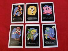 Nintendo 2DS 3DS original AR-Karten, AR Cards, 6 Stück