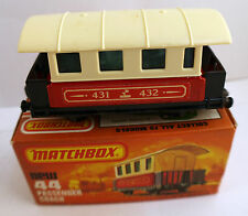 Matchbox Superfast  new #44 Passenger Coach en boite/inbox