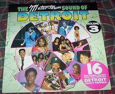Sounds of Detroit  #3 Motor Town Sixteen Hot Dance Chart Topping Tracks VINYL LP