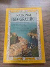NATIONAL GEOGRAPHIC MAGAZINE, ITALIAN RIVIERA, JUNE 1963