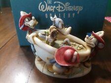 Harmony Kingdom Disney Mickey's Fire Brigade Le 3000 Wdwrfb Mickey Donald Goofy
