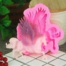 Aouke Horse Silicone Fondant Mold Cake Decor Chocolate Sugarcraft Baking Mould