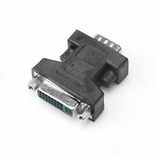 DVI-I Female Analog (24+5) To VGA Male (15-pin) Connector Adapter Video Monitor
