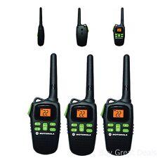Talkabout Md207R Walkie Talkie 3 Pack Set 20 Mile Range Two Way Radio