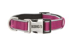 Kong Dog Padded Collar Reflective Adjustable Maroon Small**Free Shipping***