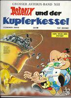 GROSSER ASTERIX BAND XIII Asterix und der Kupferkessel - Z1-2 COMIC ERSTAUFLAGE