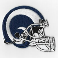 Los Angeles Rams Helmet Iron on Patches Embroidered Patch Badge Applique Hat FN