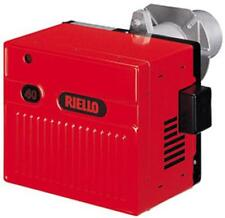 "RIELLO C8551115 GAS120 NATURAL GAS BURNER WITH SHORT TUBE AND 1/2"" GAS TRAIN"