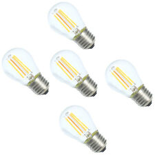 5pcs 4W E27 G45 Dimmbar LED Filament Glühfaden Fadenlampe Lampe Birne Warmweiß