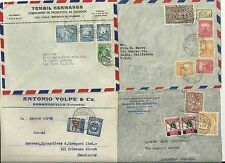 More details for 4 colombia covers to uk & usa - many diff stamps - 1933/52