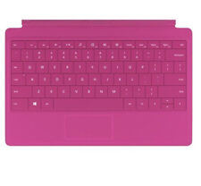 New Microsoft Type Cover 2 QWERTY UK KEYBOARD Magenta Pink for Surface 2/Pro 2