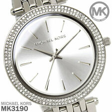 MICHAEL KORS MK3190 SILVER DARCI WATCH - RRP £225