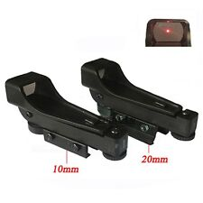 Tactical Compact Red Dot Sight 11/20mm Holographic 1x22x33 Reflex Scope Sight
