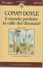 IL MONDO PERDUTO: LA VALLE DEI DINOSAURI - ARTHUR CONAN DOYLE