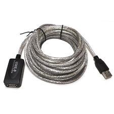 10m USB 2.0 Repeater Verlängerung Extender Erweiterung Kabel aktiv Verstärkung