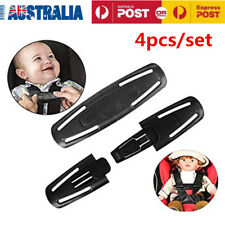 4pc Car Baby Safety Seat Strap Belt Harness Chest Clip Child Safe Lock Buckle AU