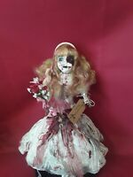 "Sinisterly Sissy's 'Carrie' Undead, Spooky, Creepy, Haunted, Gothic,17"" inch"
