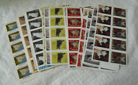 Lot of 32 Vintage Sheets Pet Pride People Cat Dog Other Stamps Seals