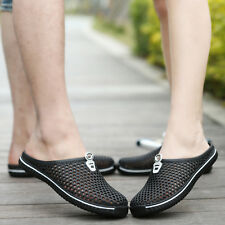 Men's & Women's Breathable Slippers Hollow out Beach Sandals Garden Hole Shoes