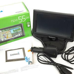 Garmin nuvi 55LM GPS Navigators System Bundle w/ Bean Bag Dash Holder