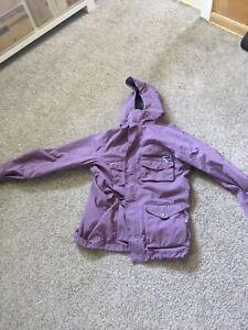 Foursquare snowboard jacket mens XL purple