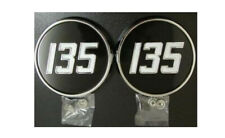 "Massey Ferguson 135 Tractor Side Badges Metal ""Best Available"" !!."