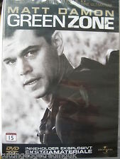 Green Zone (DVD, 2010) NEW SEALED (Nordic Packaging) Region 2 PAL