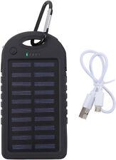 Waterproof Solar Power Bank 3.7V Lithium Battery USB Output Sun Panel