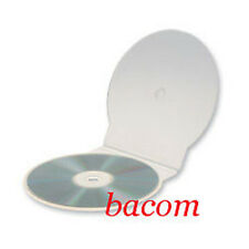 50 CUSTODIE CD SINGOLE C-Shell Trasparen SLIM 4mm BOX Cd/dvd PNCD031 SPED GRATIS