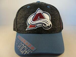 Colorado Avalanche NHL Reebok Flex Hat Cap Size L/XL Gray Blue