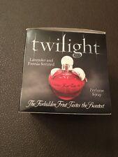 EXTREMELY RARE Twilight Purfume Forbidden Fruit (Misspelled box!!)
