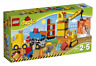 LEGO DUPLO 10813 Grande Cantiere Bulldozer Camion Ribaltabile e Gru New