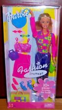 Barbie Fashion Frenzy Barbie Doll #C2518 - 2002 NEW IN BOX