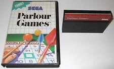 Sega Master System - PARLOUR GAMES - boxed