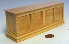 1:12 Scale Varnished Wooden Pine Finish Shop Counter Dolls House Bar Accessory