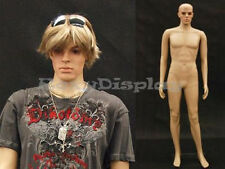 Plastic Durable Male Manikin Mannequin Display Dress Form #ROB-PS +FREE WIG