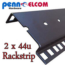 44u Double Rackstrip,data strip,servers rack strip flightcase
